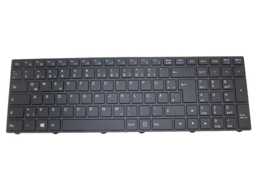 Laptop Keyboard For NEXOC B1511 German GR With Black Frame With Backlit