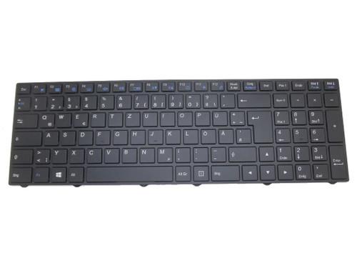 Laptop Keyboard For NEXOC B1701 German GR With Black Frame With Backlit