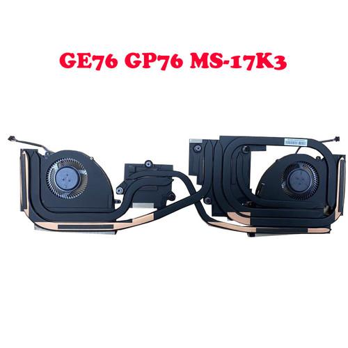 Laptop CPU GPU FAN&Heatsink For MSI GP76 Leopard GE76 Raider 10UE 10UG 10UH 11UE 11UG 11UH MS-17K2 MS-17K3 PABD1A010SHR N451 PABD1A010SHL N452
