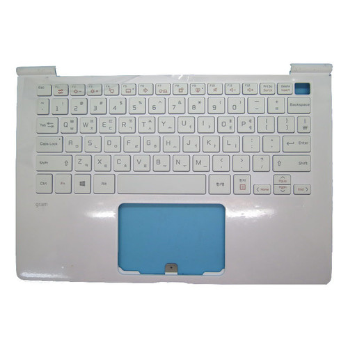 95% New Laptop White PalmRest+White Keyboard For LG 13Z970 13Z970-G 13ZD970-G 13Z970-ER33J 13Z970-MRS1J MBN64567301 Korea KR With Backlit & Touchpad