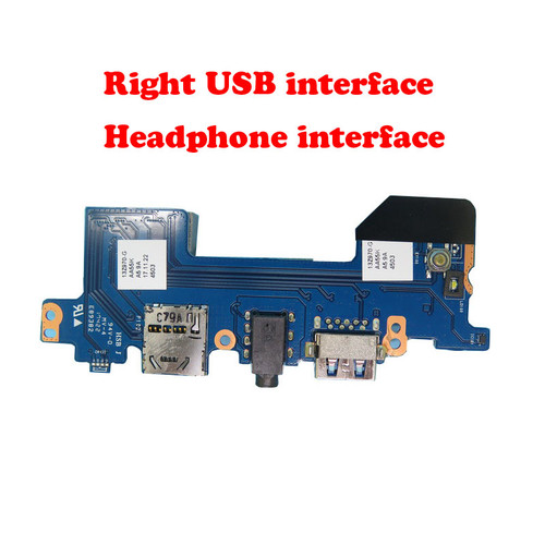 Laptop Right USB interface / headphone interface board For LG 13Z970 13Z970-G 13ZD970-G 13Z970-ER33J 13Z970-UAAW5U1 13Z970-MRS1J AA55K