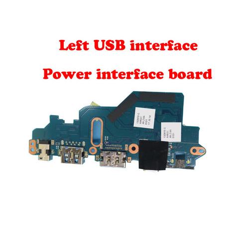 Laptop Left USB interface / power interface board For LG 13Z970 13Z970-G 13ZD970-G 13Z970-ER33J 13Z970-UAAW5U1 13Z970-MRS1J AA52C