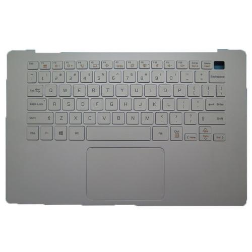 Laptop White PalmRest&US White Keyboard For LG 14Z90N MBN6678290XX 14Z90N-N 14Z90N-V 14Z90N-U English US With Touchpad