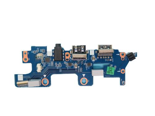 Laptop Right USB interface / headphone interface board For LG 15Z960 AR3GK 15Z960-G 15Z960-G.AA12J 15Z960-G.AA1GJ LG15Z96 15ZD960 15ZD960-GX70K
