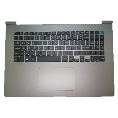 Laptop Grey PalmRest&Keyboard For LG 17Z990 MBN6554500X 17ZB990 17ZD990 LG17Z99 17Z990-R 17Z990-G 17Z990-V Traditional Chinese TW Black Upper Case