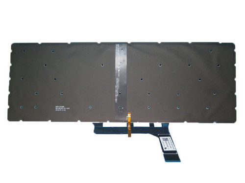 Laptop Backlit Keyboard For MSI Creator 15M MS-16W1 Creator 15M A9SE A9SD Creator 15M A10SE A10SD German GR Black NO Frame