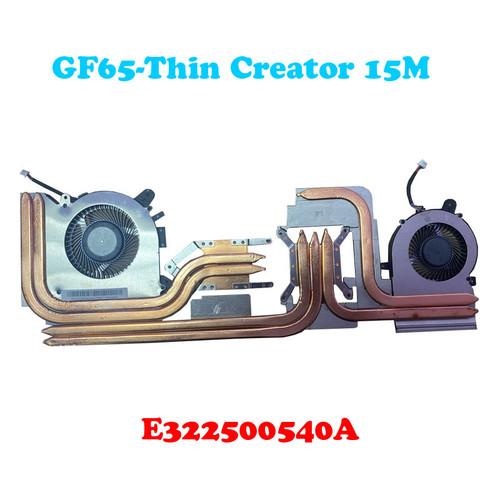 Laptop CPU GPU FAN&Heatsink For MSI Creator 15M A9SE A9SD A10SD A10SE PABD08008SH N413 PABD08008SH N433 E322500540A New