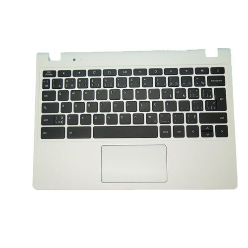 Laptop PalmRest&Keyboard For Acer Chromebook C720 C720P EAZHN001020 60.MKEN70.074 NSK-RA0SQ 2M AEZHNK00010 ZHN 9Z.NBS0SQ.02M NK.I1117.023 Canada CA Without Frame