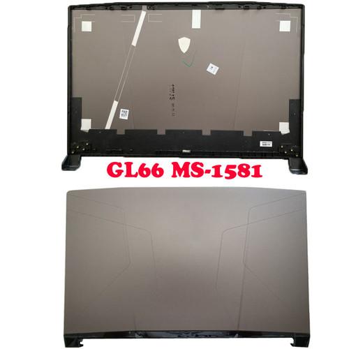 Laptop GL66 LCD Top Cover For MSI Pulse GL66 11UDK 11UEK 11UGK 11UGKV MS-1581 MS-1582 581A411 Gray Back Cover