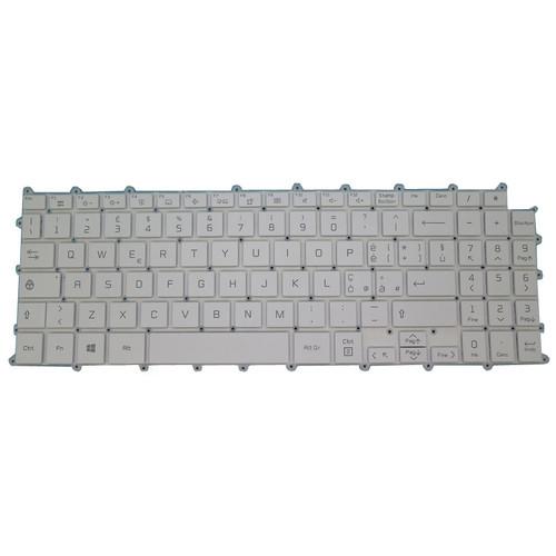 Laptop With Backlit Keyboard For LG 15Z90P 15Z90P-G 15Z90P-N 15Z90P-K Italy IT White NO Frame