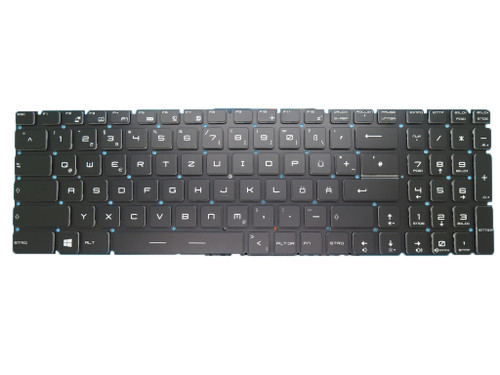 Laotop Keyboard For Schenker XMG C703 Germany GR With Backlit Black New