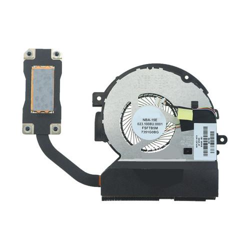 Laptop Heatsink&Fan For Foxconn NBA-15E 023.1008U.0001 FSFTB5M DC5V 0.5A new