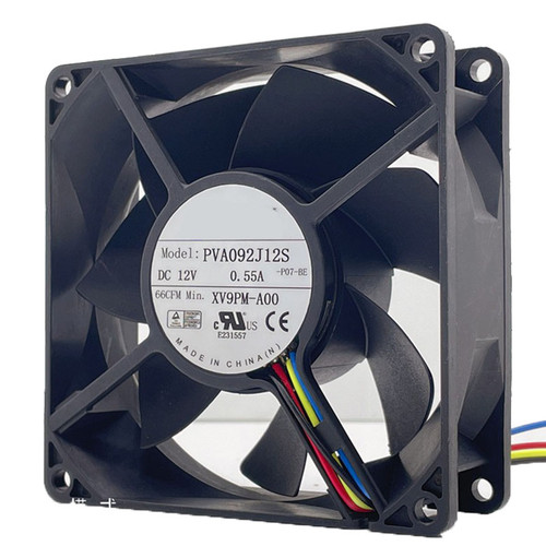 Server Fan For Foxconn PVA092J12S PVA092J12S-P04-BE DC12V 0.55A new