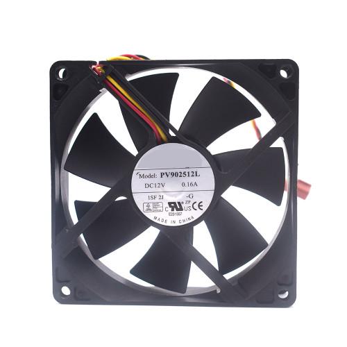 Server Fan For Foxconn PV902512L DC12V 0.16A 3PIN new