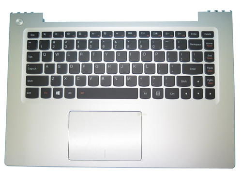 Laptop PalmRest&keyboard For Lenovo U430P U430T U430 Touch English US 90203243 LZ9 Upper Case With Touchpad Backlit Silver New