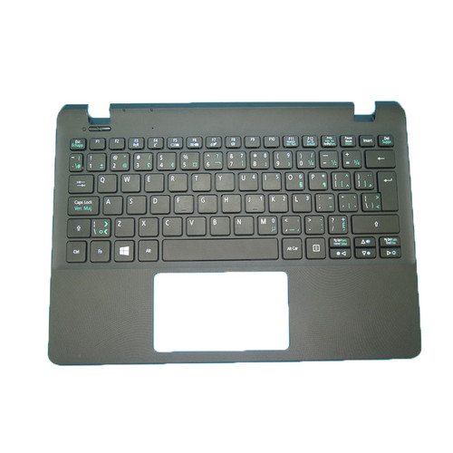 Laptop Used PalmRest& CA Keyboard For Acer ES1-111 E3-111 V3-111 NSK-R7CSQ EAZHK004010-1 NSK-R7CSQ 2M AEZHJK00020 9Z.N9RSQ.C2M NK.I1117.04P Canada CA 98% New