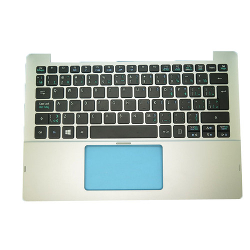 Laptop Used PalmRest& CA Keyboard For Acer For SWITCH 11 SW5-111 NSK-R73SU 2M 0KNM-1M1CB13 9Z.N9RSU.32M NK.I1117.04P Canada CA NO Touchpad