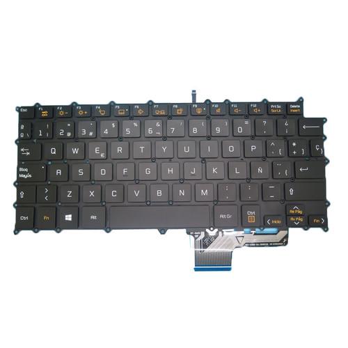 Laptop Keyboard For LG 13Z980 13ZD980 LG13Z98 SG-80200-2EA SN3871BU Black Backlit Spanish SP NO Frame