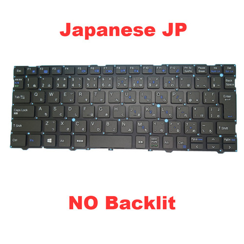 Laptop NO Backlit Keyboard For CLEVO L140CU L141CU L140MU L141MU Japanese JP Black NO Frame