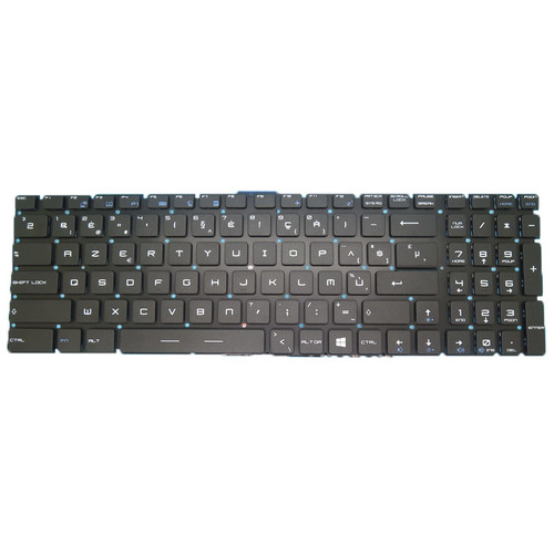 Laptop NO Backlit Keyboard For MSI GS60 GS70 V143422DK1 BE S1N3EBE202SA0 S1N-3EBE202-SA0 Belgium BE NO Frame
