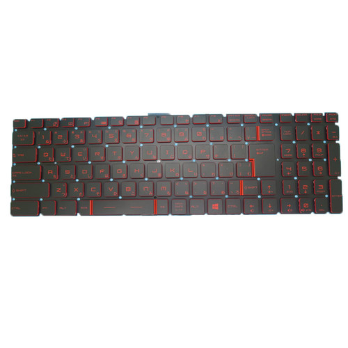 Laptop Translucent Keyboard For MSI GS70 GS60 GT72 GT62 V143422KJ1 JA S1N3JJP252SA0 S1N-3JJP252-SA0 Japanese JP Crystal Keycap
