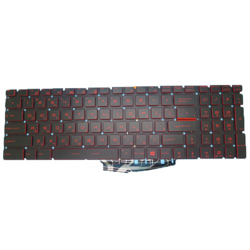 Laptop Backlit Keyboard For MSI GS70 GS60 GT72 GT62 NSK-FB1BN 0R 9Z.NCXBN.10R S1N3ERU282D10 S1N-3ERU282-D10 Russian RU Crystal Keycap