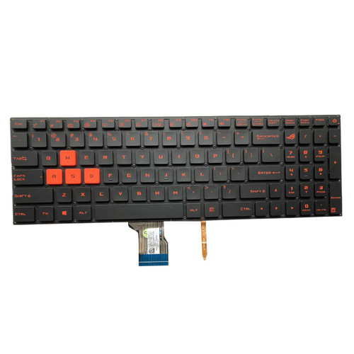 Laptop Keyboard For ASUS S7V S7VM S7VMK S7VS S7VT S7VI S7ZC Without Frame With Backlit US United States orange Font color
