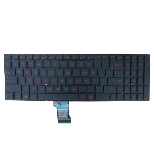 Laptop Keyboard For ASUS GL702V GL702VM GL702VMK GL702VI GL702ZC GL702VT GL702VS Without Frame With Backlit US United States pink Font color