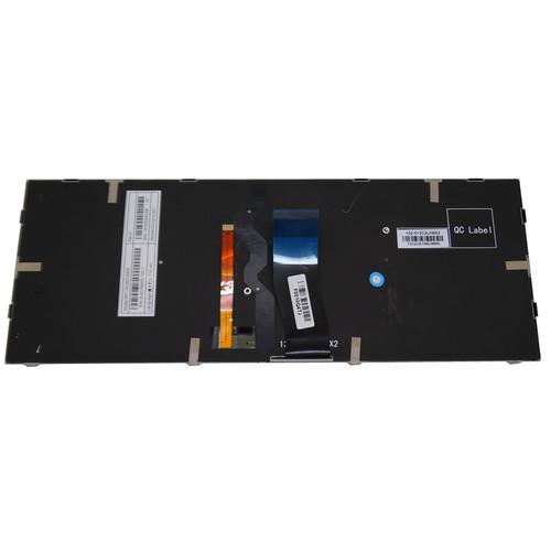 Laptop Backlit Keyboard For CLEVO P640 MP-13C23K0J4303 6-80-P6400-110-1 6-80-P6400-111-1 Korea KR Black NO Frame