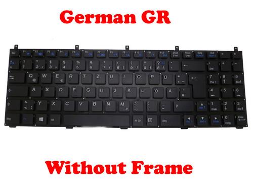 Laptop Keyboard For CLEVO B5100M B5120 B5121 B5123 B5125 B5130M B7110 B7130 C5100Q-C C5105-C C5500Q-C C5505-C E5120Q-C 5125-C E5128Q-C E7130 German GR