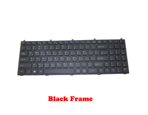 Laptop Keyboard For CLEVO B5100M B5120 B5121 B5123 B5125 B5130M B7110 B7130 C5100Q-C C5105-C C5500Q-C C5505-C E5120Q-C 5125-C E5128Q-C E7130 Korea KR