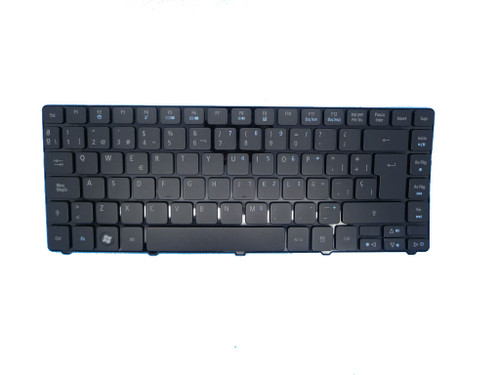 Laptop Keyboard For ACER 3810 4535 4935 4810T Black SP Spanish (With Backlit) KB.I140A.025 PK1307O1A21 9J.N2C82.00S NSK-AP00S