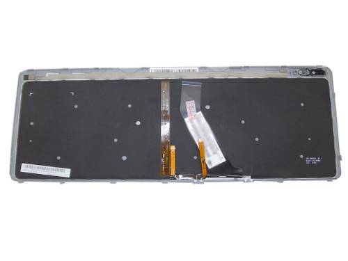 Laptop Keyboard For Acer M5-581 M3-581 V5-571 V5-531 Black With Silver Frame&Backlit LA Latin America 9Z.N8QBW.K1E NSK-R3KBW