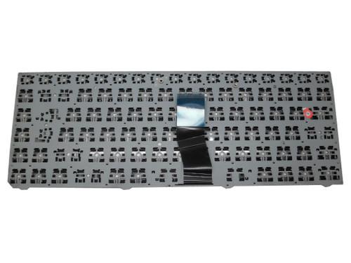 Laptop Keyboard For CLEVO W940SU MP-12R76DK-430 Nordic NE Black Frame
