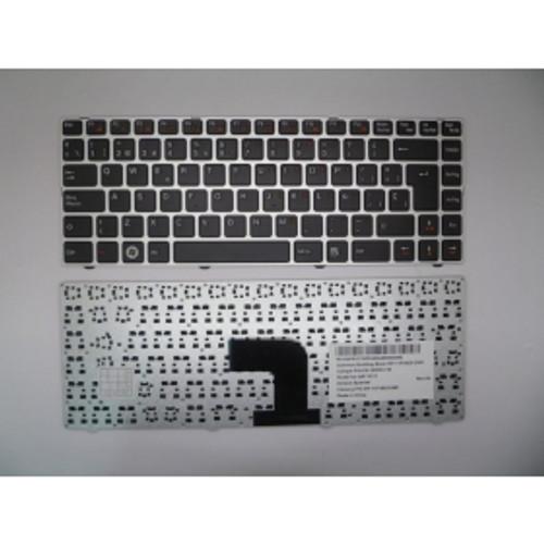 Laptop Keyboard For Chicony QAT10 Black SP Spanish (Silver Frame) MP-11P16E0-6981 PK130PR1C16 QAT10/11