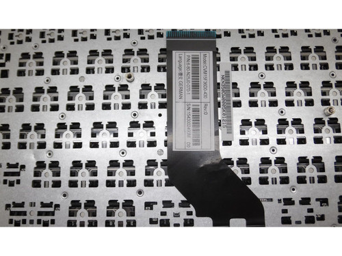 Laptop Keyboard For CLEVO N250 CVM15F38PA-4301 6-80-N25L0-330-1 Brazil BR White (Without Frame)