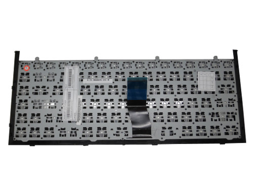 Laptop Keyboard For CLEVO W840SU MP-12R76DK-430 6-80-W5470-030-1 Danish DM With Black Frame