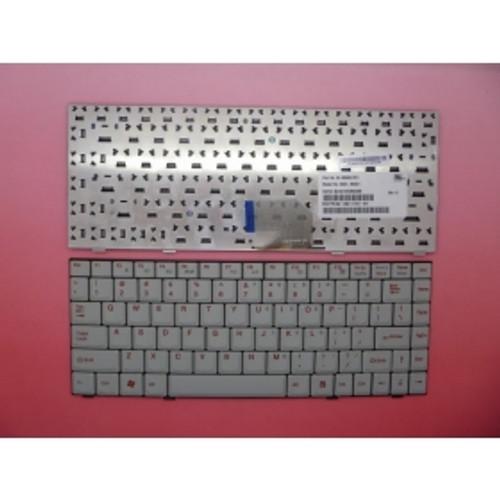 Laptop Keyboard For Darfon U200 Gray US United States 82-382-010-101 99.N5882.C01 NSK-N3C01