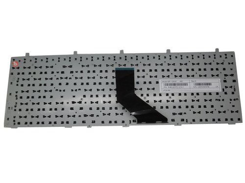 Laptop Keyboard For CLEVO W370ET MP-12A33SU-4301W 6-80-W37S0-280-1 6-80-W670STQK-280-W Russian RU Without Frame (Yellow Mark)