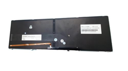 Laptop Keyboard For Gigabyte P25W V111465EK1 2Z703-UK552-S11S United Kingdom UK With Black Frame And Backlit