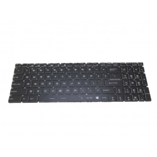 Laptop Keyboard For MSI WT72 2OK-1299US 6QI-654US 6QK-099US 6QL-283US 6QL-298US 6QL-299US 6QL-400US 6QM-423US 6QN-218US 6QN-219US 6QN-245US Crystal Keycap & Without Frame & With Backlit United States US