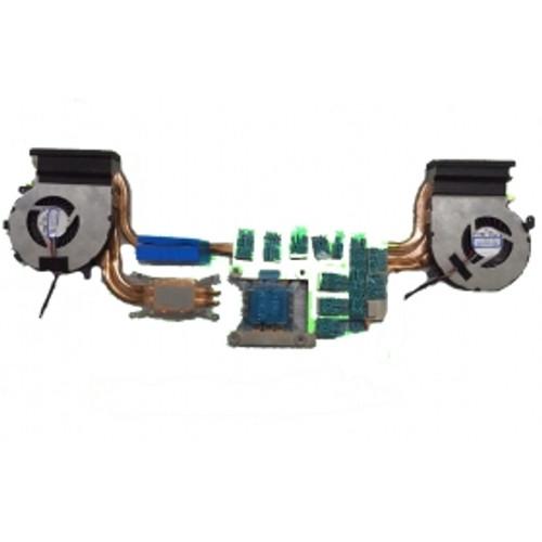 Laptop CPU&GPU Heatsink&Fan For MSI GE62 2QE 2QF 2QC 2QD 2QL 6QC 6QD 6QE 6QL 7RD 7RE PE60 2QE GL62 6QE 6QF PE70 2QE 6QD 6QE 0.55A DC5V PAAD06015SL N317 N318 E32250073A87 E32250073CA91