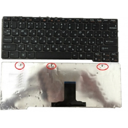 Laptop Keyboard For LENOVO U160 U165 S200 S205 S205S M13 Russia RU 25010581 25010625 black MP-09J63SU-6862