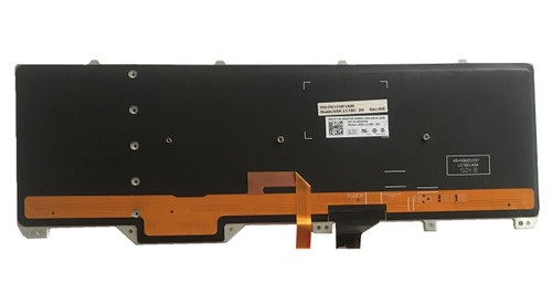17 R3 PK1318F1A19 NSK-LC1BC 1E 0P0YHM Spanish Keyboard For DELL Alienware 17 R2
