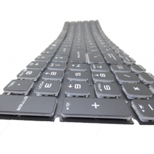 Laptop Keyboard For MSI GE62 6QD-274US GS60 6QE-002US 6QE-006US 6QE-054US GS72 6QD-042US PE70 6QE-058US Crystal Keycap & Without Frame United States US