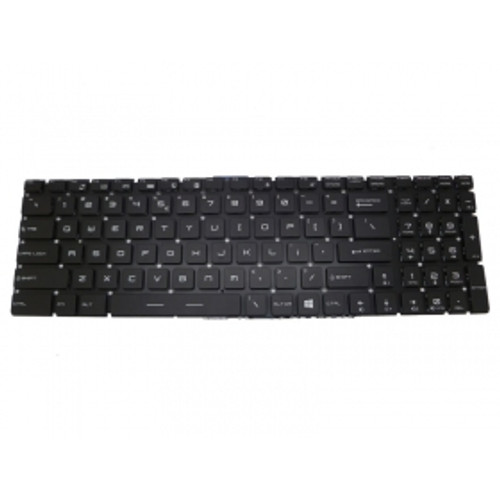 Laptop Keyboard For MSI GE62 6QD-274US GS60 6QE-002US 6QE-006US 6QE-054US GS72 6QD-042US PE70 6QE-058US Backlit & Crystal Keycap & Without Frame United States US