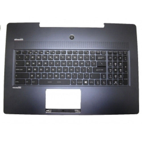 Laptop 95% New Palmrest & 95% New Keyboard For MSI GS72 Dark-Blue Without Touchpad V143422BK1 UI US English S1N-3EUS217-SA0 307772C417B621 With Backlit