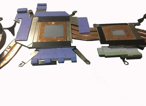 Laptop CPU Heatsink&Fan For DELL Alienware 17 R4 P31E GTX1070 0TGV49 TGV49 USED