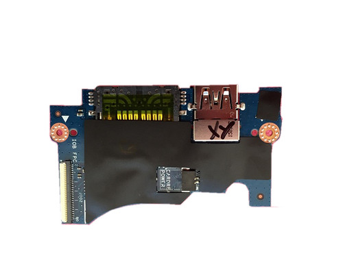 Laptop USB Card Reader Power Button Board For DELL XPS 13 9343 9350 9360 Latitude 7404 P54G 0Y1TPF Y1TPF