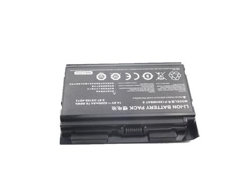 Laptop Battery For P150HMBAT-8 P150EM P151HM P510HMBAT-8 6-87-X510S-4D72 5200mAh 76.96Wh 14.8V 8-Cells New and Original
